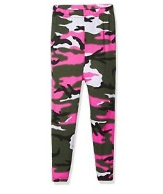Girls Camo Print Leggings Full Length Age 2-3 Years