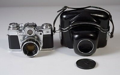 Zeiss Ikon Contarex Bullseye Camera with 50mm Planar f2