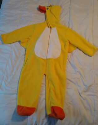 Cute Duckie Halloween Costume Size:  24 Months