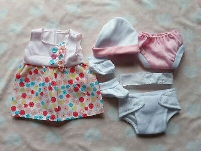 My First Baby Annabell Pink Doll Clothes Dress Set