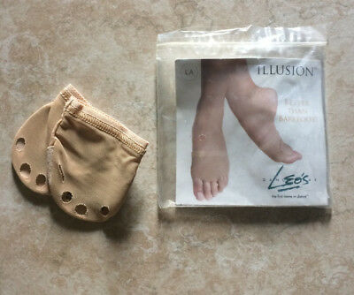 Leo's Contemporary Dance Shoes/Barefoot - Nude Women's L