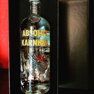 Absolut Vodka Karnival 1 Liter Rafael Grampa Limited Box Edition (bitte Lesen!)