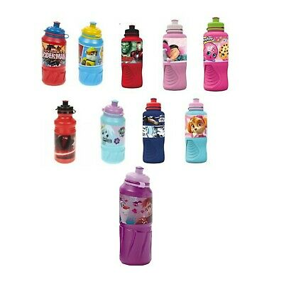 Ergo Kids Sports Bottle Water Drinking Lunchbox School Travelling Picnic Camping