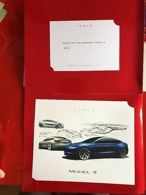 Tesla Model 3 First Day Order Gift