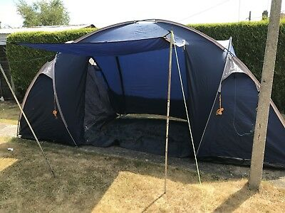 Halfords Four Man Tent & HALFORDS FOUR MAN Tent - £30.00 | PicClick UK