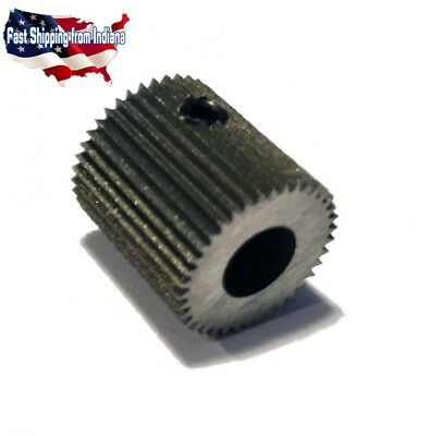 Mold Steel Extruder Gear, Filament Drive Gear, 38 Teeth, Creality, MK8, 11.15mm