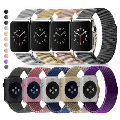 Milanese Loop Stainless Steel Band for Apple Watch Series 4 3 2 1 38 40 42 44mm