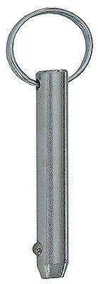Double Hh Mfg 85619 Ring Detent Pin, Quick-Release, 5/16 x 3-In.
