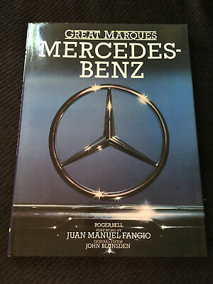 Great Marques - Mercedes-Benz by Roger Bell - Vintage Hardcover