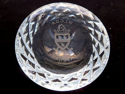 Crystal Classical Collection Paperweight