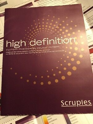 Scruples High Definition Color Chart Hair