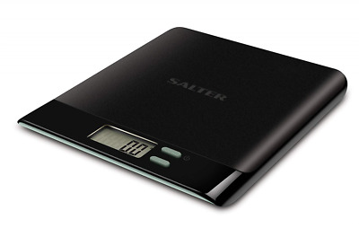 Salter Pro Digital Kitchen Scales - Electronic Food Weighing, Slim Design Cookin
