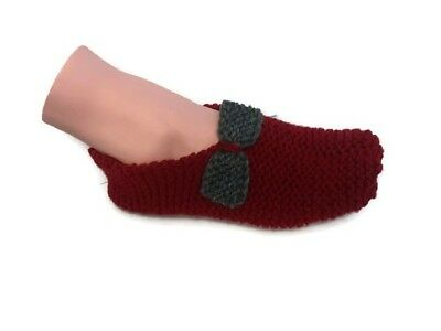 412a8c1bec2a5 KNITTED SLIPPER PATTERN to make in one evening - $2.00 | PicClick