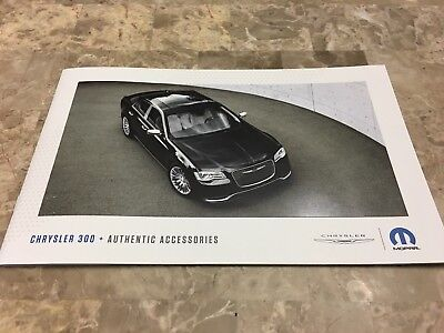 2018 CHRYSLER 300 Accessories 16-page Original Sales Brochure