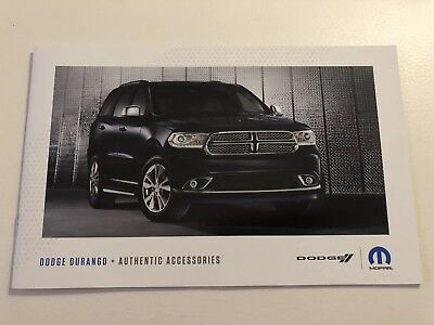 2018 DODGE DURANGO Accessories 12-page Original Sales Brochure