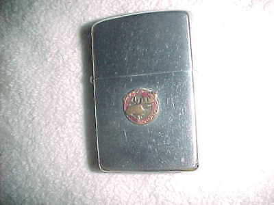 "MOOSE BADGE  2517191   ZIPPO  ""ORDER of ELKS""    FRATERNAL ORDER"