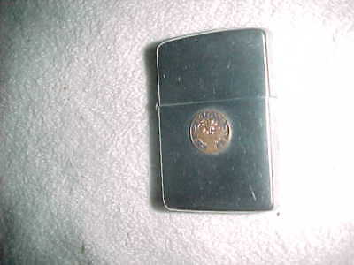 "ANTLERS BADGE  -  2032695   ZIPPO  ""ORDER of ELKS""    FRATERNAL ORDER"