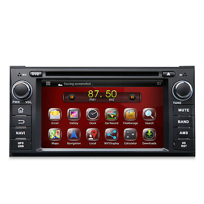 Android Car Stereo GPS Navigation Navi Radio Audio DVD Player Bluetooth for Jeep