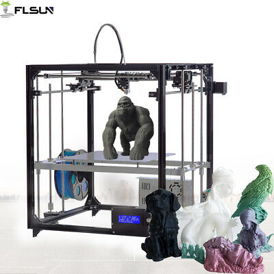 Flsun-F1 Cube High Precision 3d printer Large Printing Size Auto-leveling System