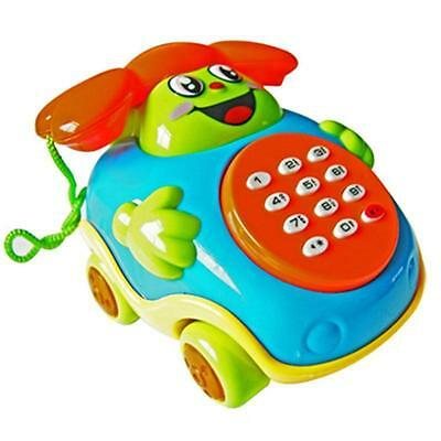 Baby toys Music Cartoon Phone Educational Developmental Kids Toy Gift BR