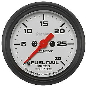 AutoMeter 5786 Phantom (R) Gauge Fuel Rail Pressure