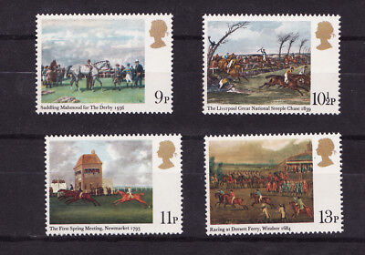 1979 GB, Horse Racing NH Mint set of stamps SG1087-90