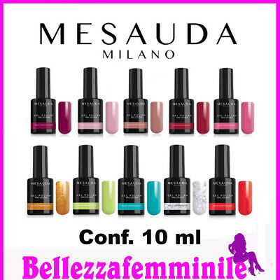 Mesauda Milano Gel Polish Nail colour smalto semipermanente per unghie 10 ml