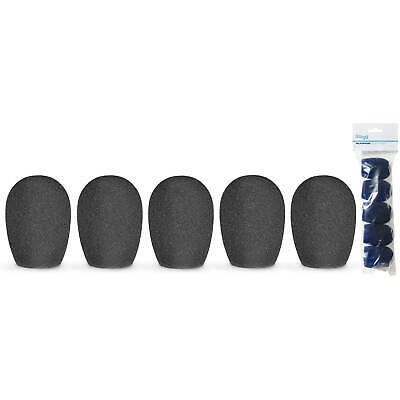 Stagg Microphone Windshield Protective Foam Cover 20mm x5 - Black WS-S20/B5