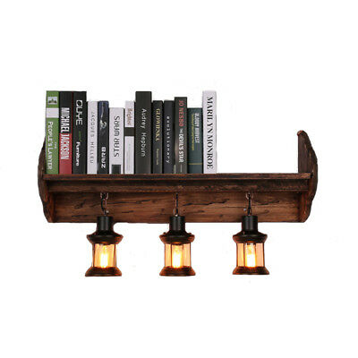 Modern Book Shelf Wall Lamp E27 Wall Light For Sconce Bar Bedroom Beside Home