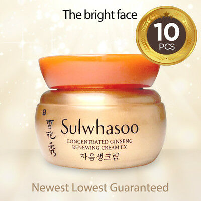 Sulwhasoo Lowest Price Concentrated Ginseng Renewing Cream EX 5ml x10pcs [50ml]