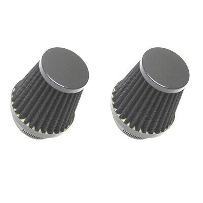 2Pcs Air Filter Cleaner 60mm for ATV Quad Pit Dirt Bike Motorcycle Scooter