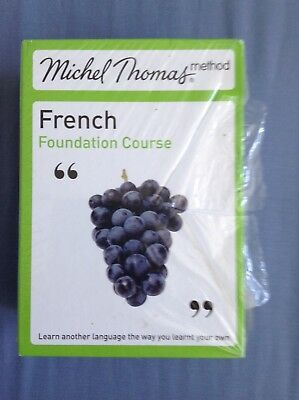 Michel Thomas Method French Foundation Course CD Box Set As New learn a language