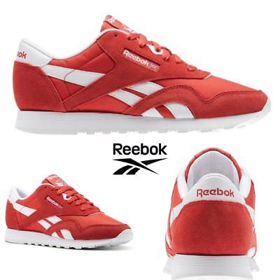 32db29f73ee04 Reebok Classic Nylon Neutrals Running Shoes Sneakers Clay Tint BS9377 SZ  4-12.5