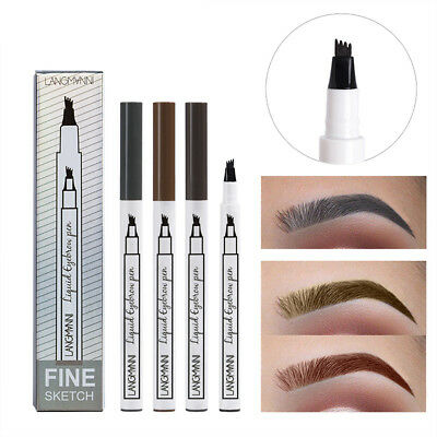 stylo crayon à sourcils ins fourchette sourcil tatouage pen sourcils waterproof