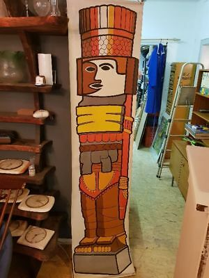 Totem Stake Picture - Mural Wallpaper Scroll Painting Chart - 210 x 50 Cm - 70er
