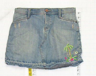 Nice Gap sz 14 Girls Adjustable Waist Blue Jeans Denim Skirt School B0788