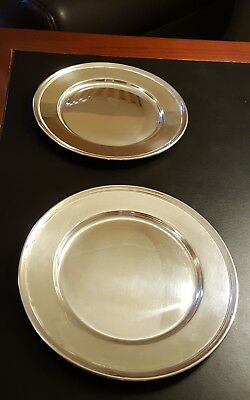 Vintage Sterling Bread Plates Wallace