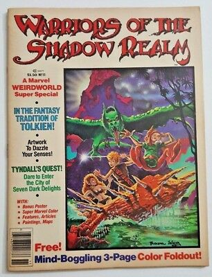 Warriors of the Shadow Realm #11