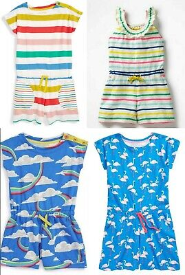 f3a773b465db Ex-Boden Cute Playsuit All In One Rainbow -Planes -Flamingo-Horse Ages