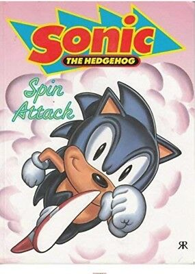 Sonic the Hedgehog: Spin Attack No. 2 Paperback Book Sonic The Comic