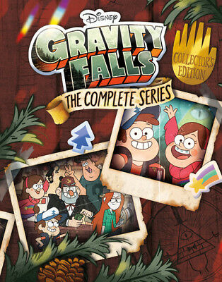 Gravity Falls: Complete Series (2018, Blu-ray NEW)7 DISC SET
