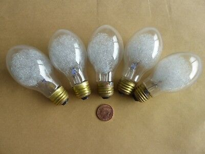 5 x Phillips PF60 type clear ES large photo flash bulbs. MPP Graphic Bowens etc