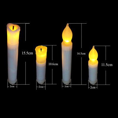 Lungo Flameless Candele Intermittente Led Lumini Batteria Lumino Eco Top