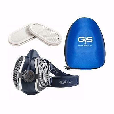 Elipse SPR501 Woodworking Dust Fumes Safety Mask Respirator Spare Filters & Case