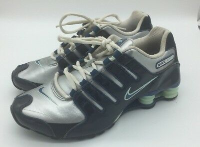 2009 Womens Nike Shox NZ SL Patent Leather Running Shoes! Size 9 Mens Size  7.5 7a8fd47b5