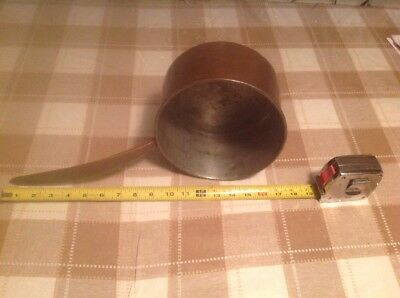 Early Dovetailed Heavy Copper Pot