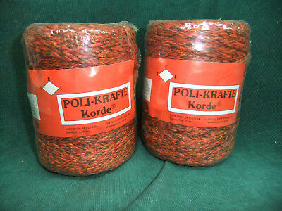 Poli-Krafte Korde #6 For Macrame 300 Ft /roll- Lot of 2