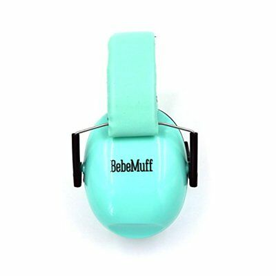 BEBE Muff Hearing Protection - BEST USA Certified Ear Muffs, teal, 2 year