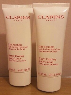 2 x 100ml CLARINS EXTRA-FIRMING BODY LOTION - LIFTS, TONES & SMOOTHES **£14.99**