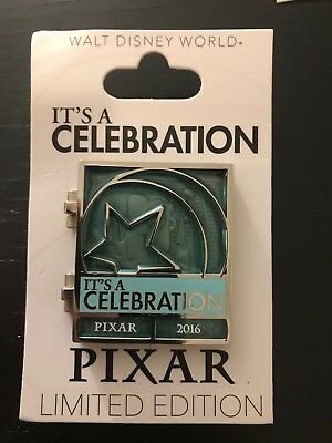 Finding Nemo Dory and Marlin Pixar Party Countdown 2016 Celebration Disney Pin